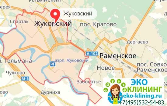 уборка квартир жуковский