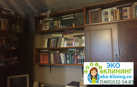 уборка библиотеки эко клининг