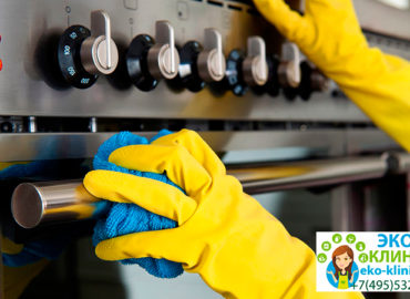 Как отмыть плиту от жира